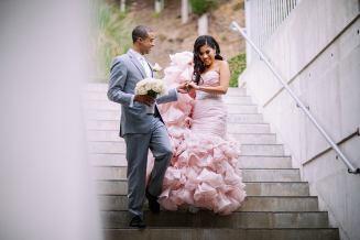 pink dresses