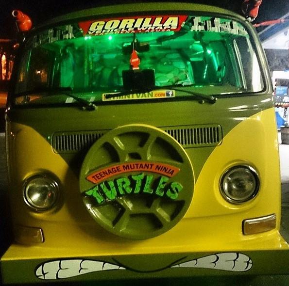turtle van